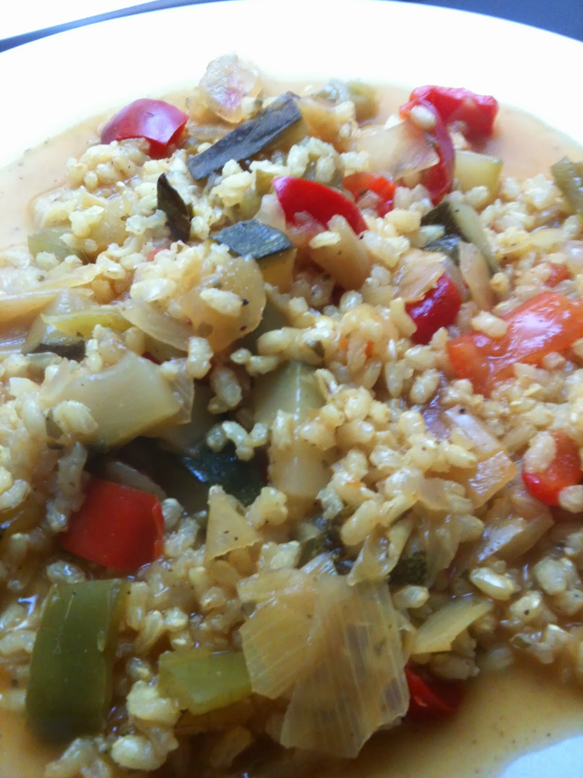 Rinc n light arroz integral con verduras - Arroz con verduras light ...