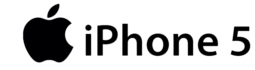 Image Gallery iphone 5 logo