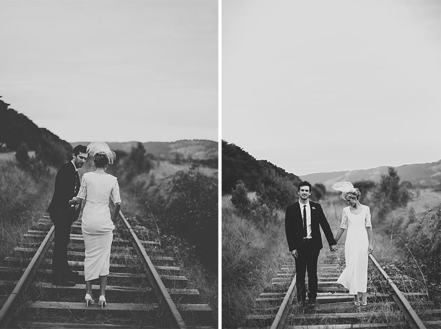 train trak winery wedding