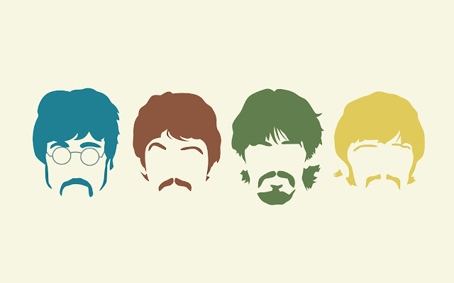 john paul george y ringo wallpaper, the beatles wallpaper