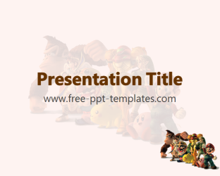 Video Game PPT Template | Free PowerPoint Templates