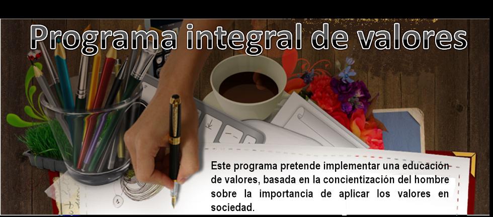 Programa Integral de Valores