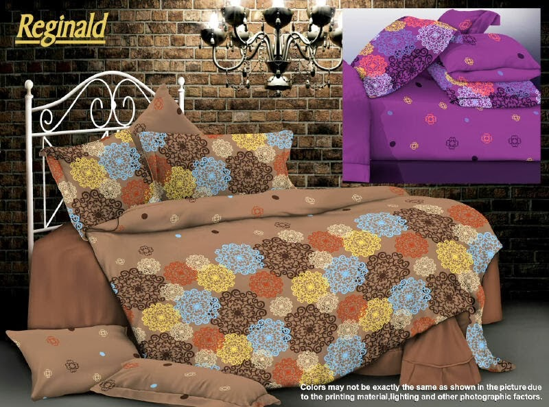 Sprei Renette Motif Reginald