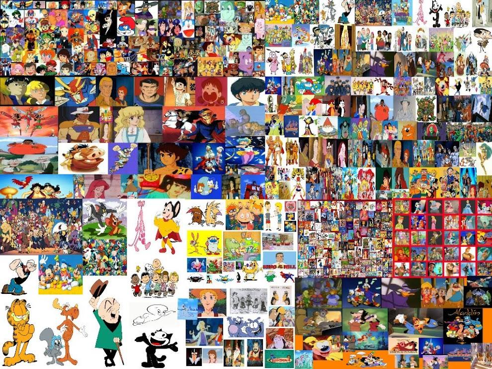 I cartoni animati di tutta italia anni e