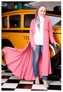 Aneka Model Busana Muslim Wanita Modern Style Korea