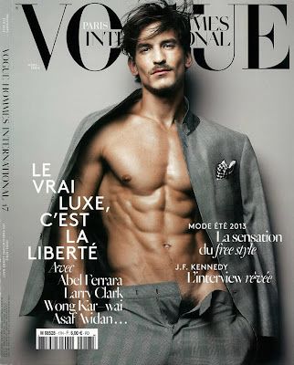 Jarrod Scott by Sølve Sundsbø for Vogue Hommes International Spring 2013