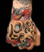 3D Snakes Tattoo on Hands (snakes tattoo on hand tattoosphotogallery)
