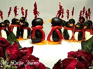 My Recipe Journey: Cream Cheese Penguins