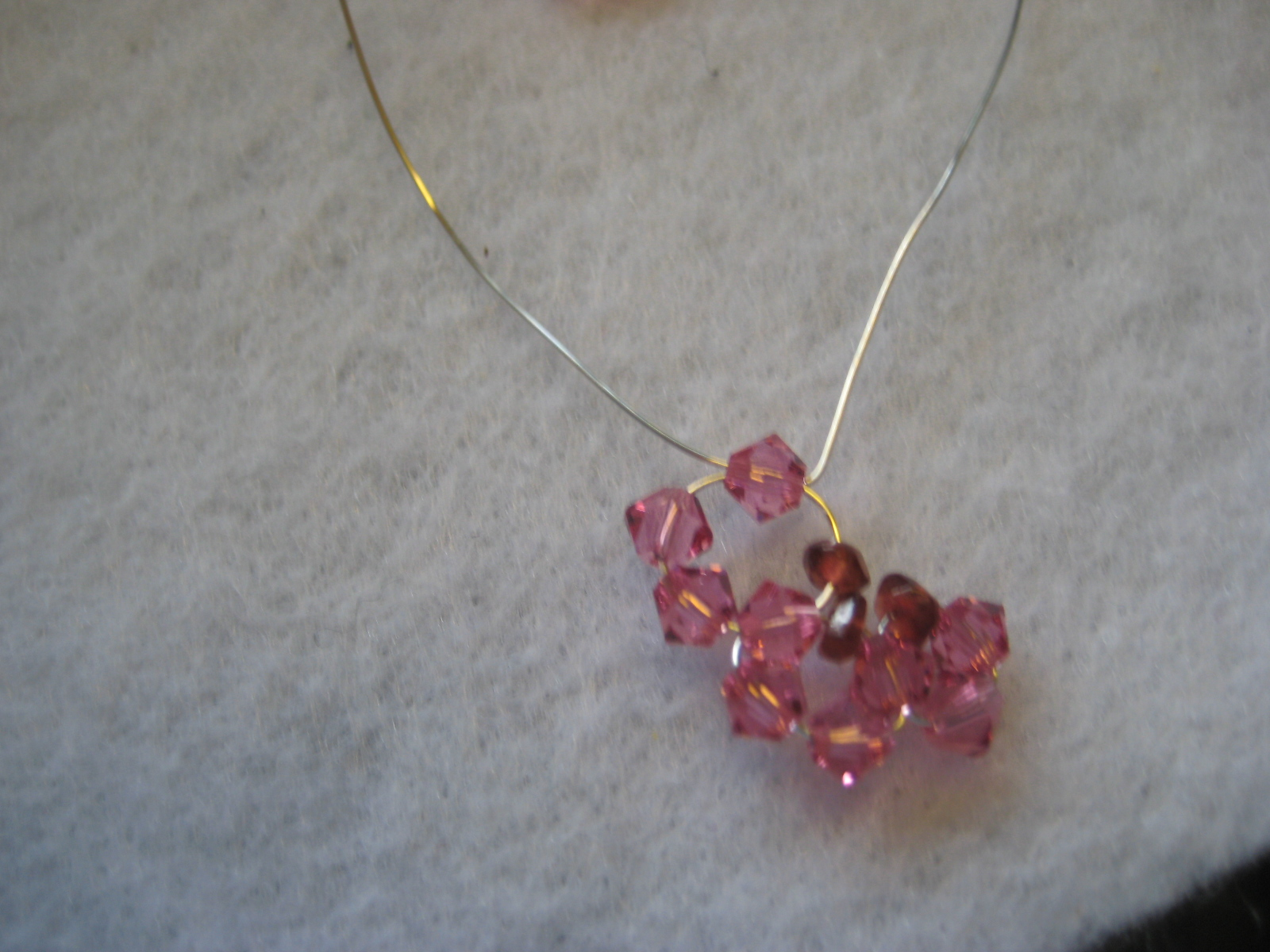 alankarshilpa: How to Make a Wire Wrapped Earring for Valentine Day ...