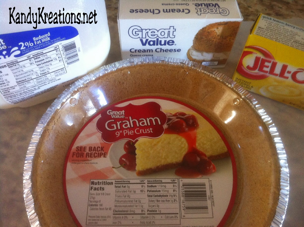 Easy no bake Lemon cheesecake ingredients