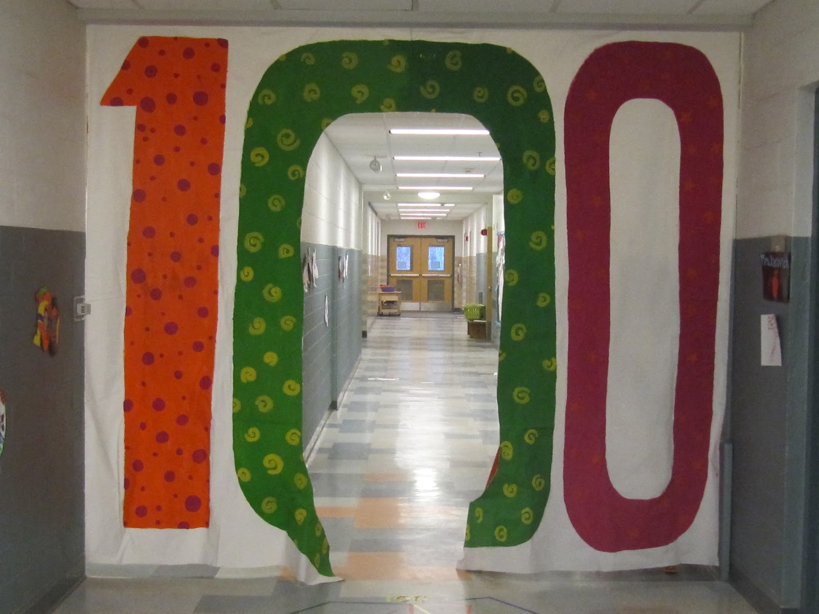 Joyful learning in kc the 100th day for 100th day of school decoration ideas