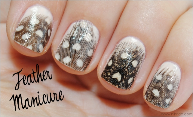 How To Feather Manicure