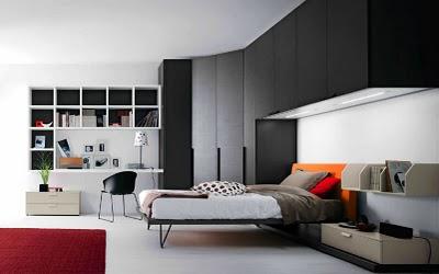 Decoraci n de interiores decoraci n de cuartos juveniles for Muebles para recamara minimalista