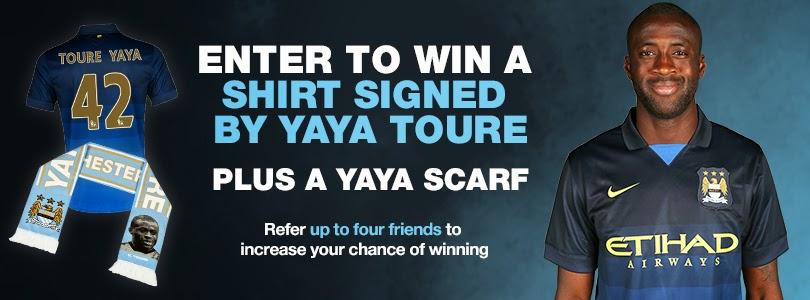 عرض محدود: أحصل على قميص اللاعب ياياتوري الرائع يصلك إلى باب منزلك