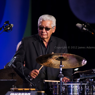 Pete Escovedo at the Monterey Jazz Festival in 2012