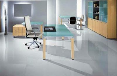 desain kantor minimalis modern 2
