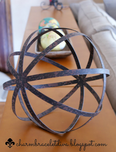 Metal Orb Decor