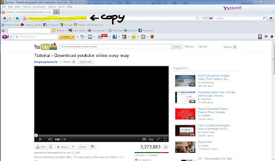 How to download a youtube video copy link