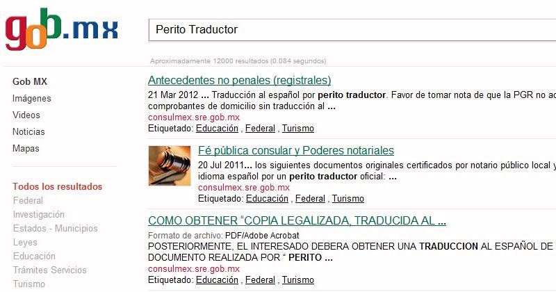 Traductor Oficial: Peritos Traductores en México