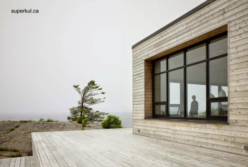 Arquitectura de casas caba a moderna de madera con techo - Cabanas modernas ...