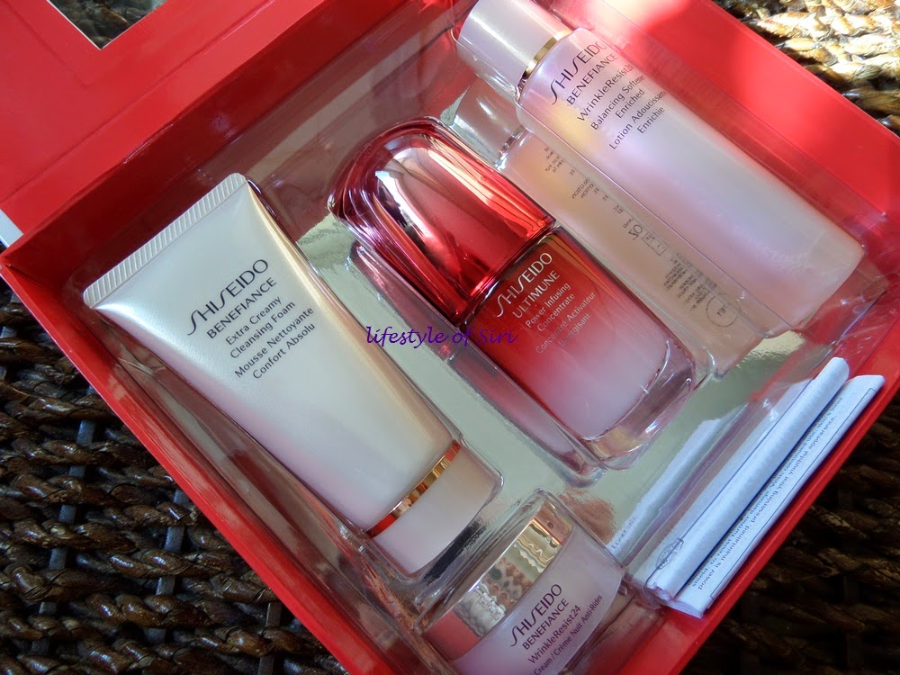 shiseido 2014 yılbaşı seti