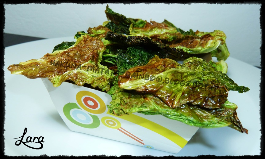 Chips di cavolo - Kale Chips