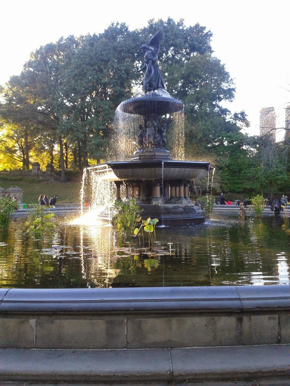 imagen de Fuente en Central Park
