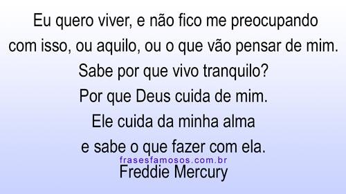 Frases Freddie Mercury