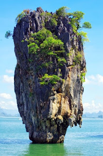 James bond island in Thailand, ko tapu.