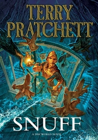 "Cover of ""Snuff"", a novel by Terry Pratchett"