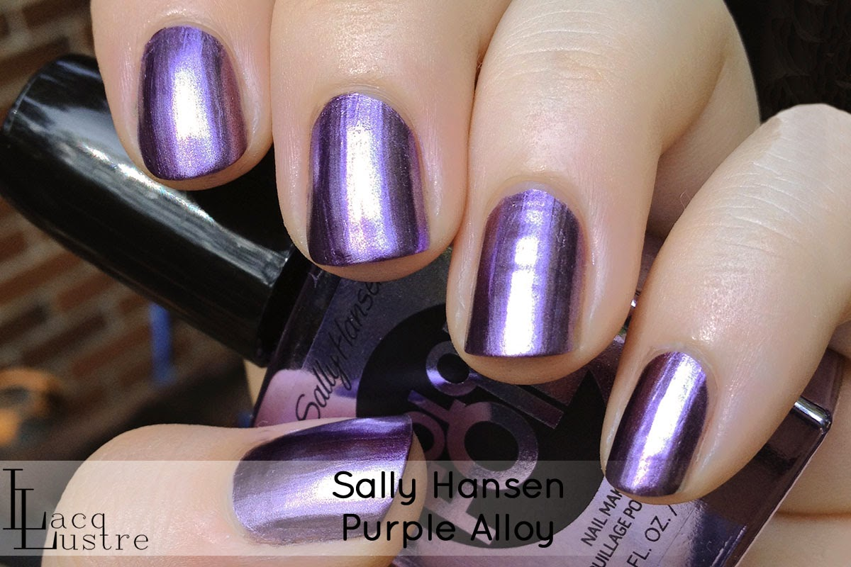Sally Hansen Purple Alloy swatch