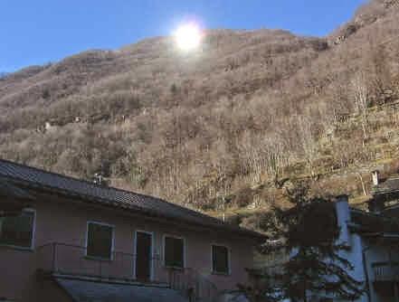 Italian village whithout sun: Viganella