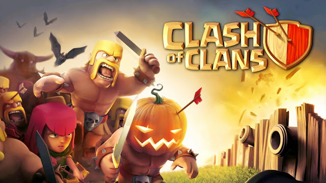 111928-Clash of Clans Halloween HD Wallpaperz