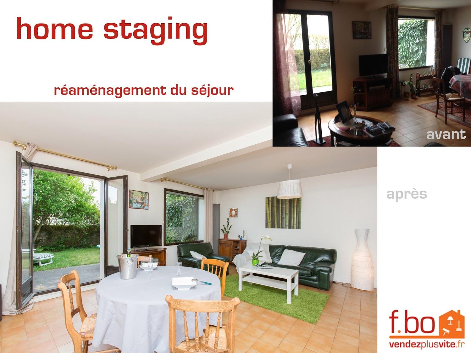 Vendez plus vite votre bien ma derni re r alisation en for Home staging photos