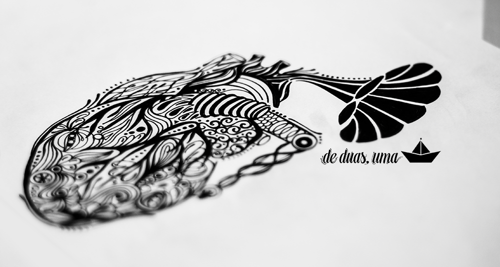 drawing zendoodle tattoo heart deduasuma