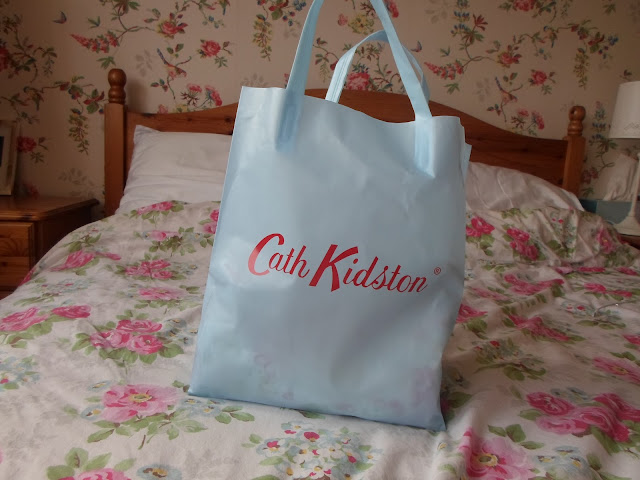 Cath Kidston Blue Shopping Bag