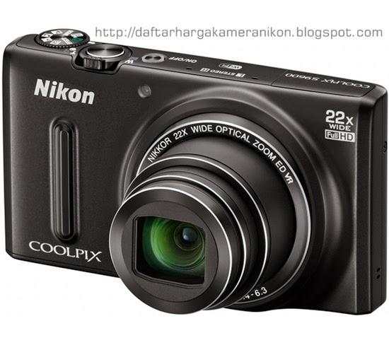 Harga dan Spesifikasi Kamera Nikon Coolpix S9600