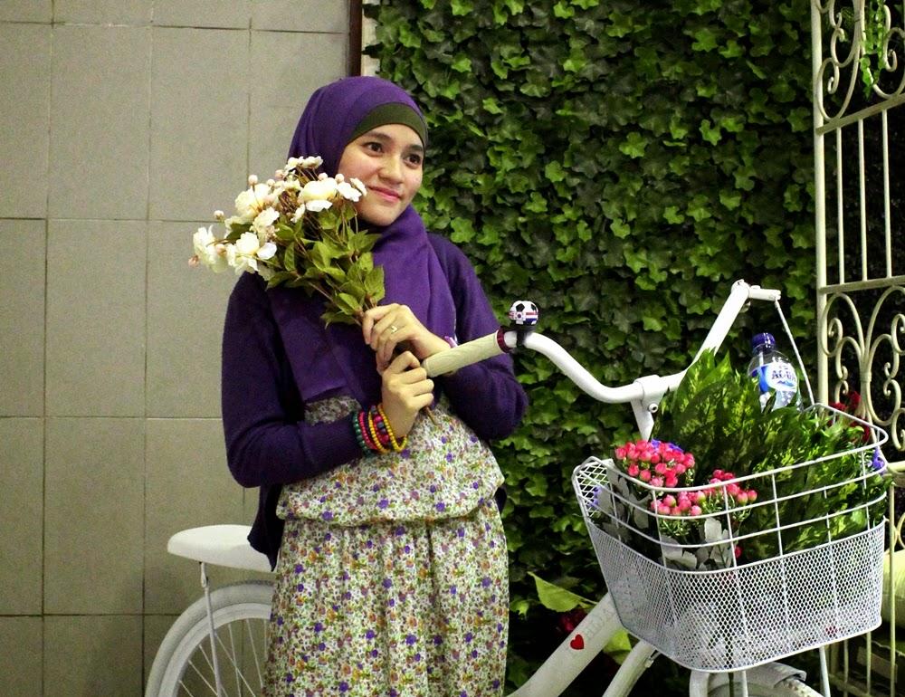 Indonesia Hijab Fest 2014 Sabuga Bandung Mix And Match Hijab Style Hunting Foto
