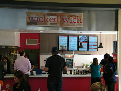 Vegan options at Wicked 'Wich at the Downtown Plaza