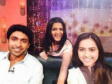 Koffee With DD Season 2 ,04-01-2015,Koffee With DD With Actor Vikram Prabhu,Actress Divya Today Program with DD, Vijay Tv, Watch Online Koffee With DD