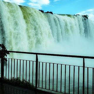 Mirante do Elevador Panorâmico, Parque Nacional do Iguaçu, Foz do Iguaçu.