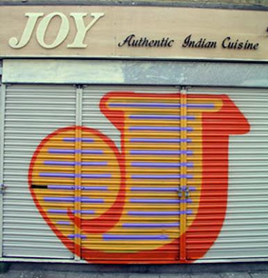 Letter J on graffiti Alphabet art