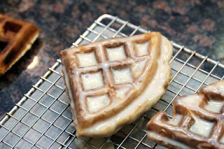 glaze-on-waffles