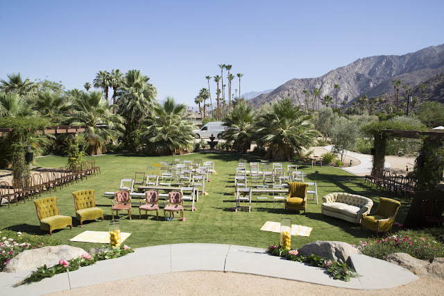 Valley & Co. Events Palm Springs wedding