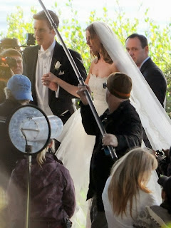 Emily Vancamp Pictures in Wedding Dress on the Set of Revenge in Palos Verdes 0006