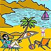 Pinte a Praia nos jogos!