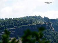 El Turó de la Mina des del Serrat del Pi