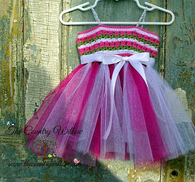 free crochet pattern tutu dress