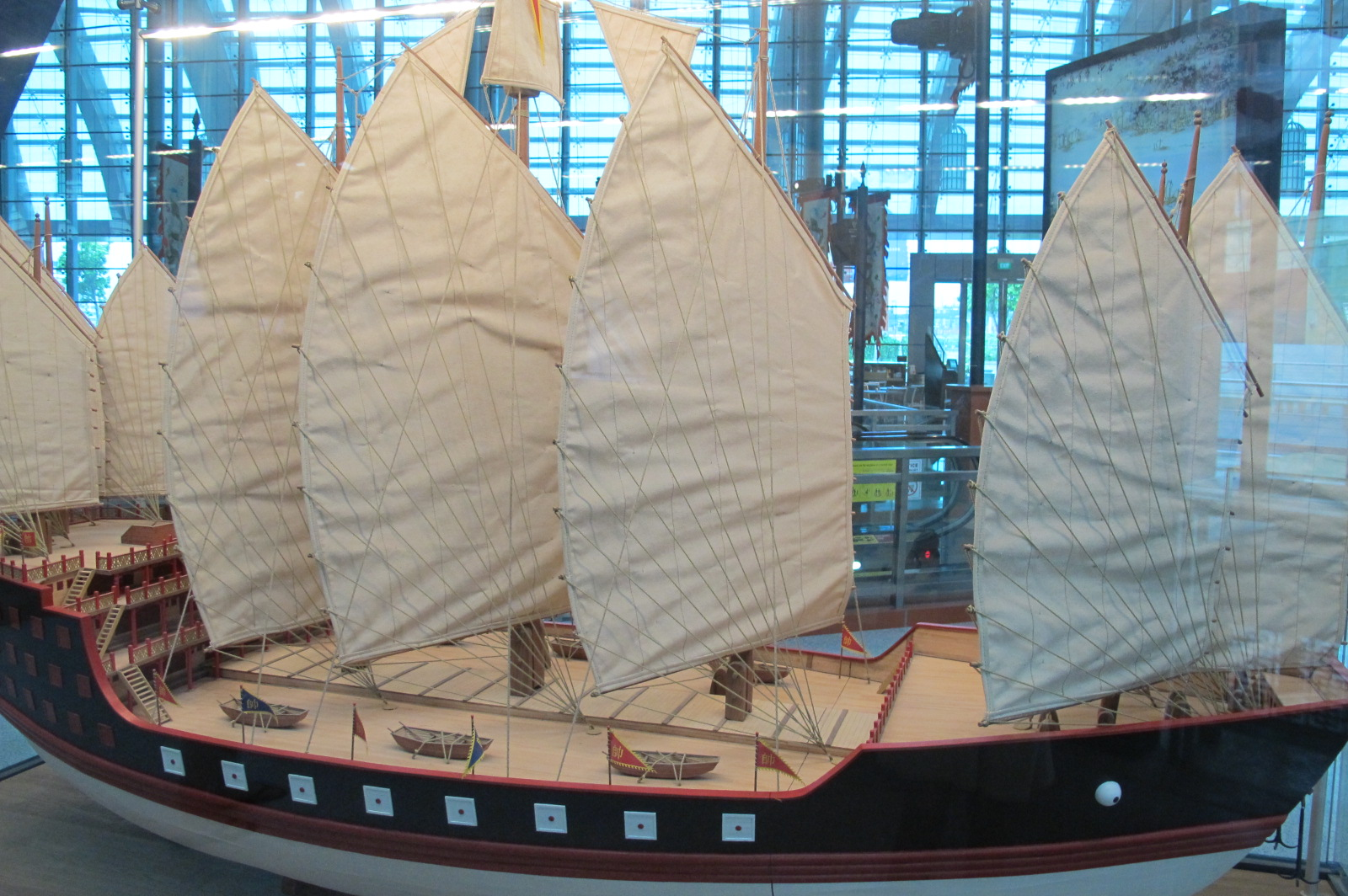 Zheng He Ship Replica Maritime Museum...