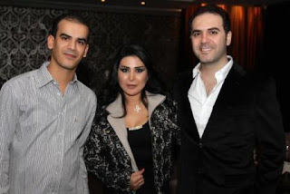 صداقة وفاء خليفة مع وائل جسار وزوجته تدحض الشائعات..بالصور